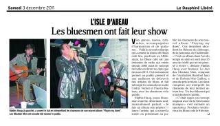 Le Blues Café dans le Dauphiné Libéré
