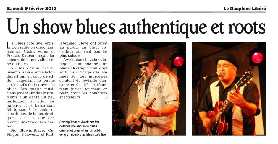 Blues Café février 2013