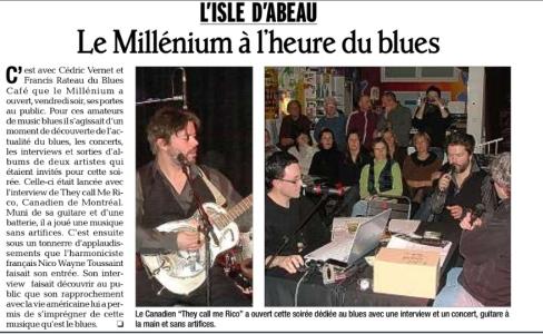 Le Dauphiné Libéré - 15 février 2012