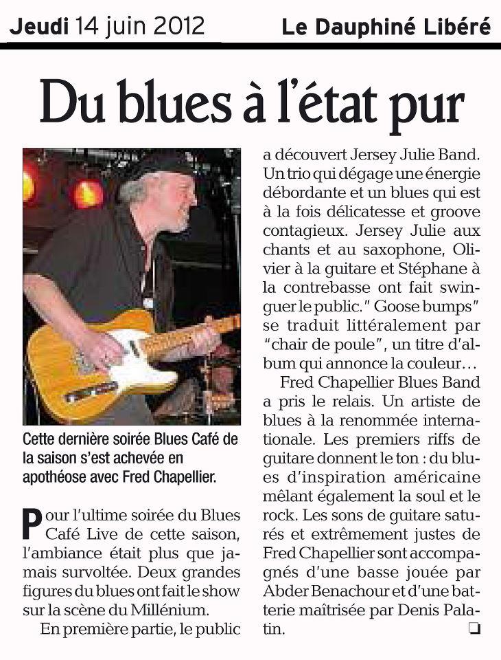 Le Dauphiné Libéré – 14 juin2012