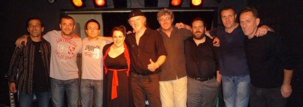 Fred Chapellier et l'équipe du Blues Café Live