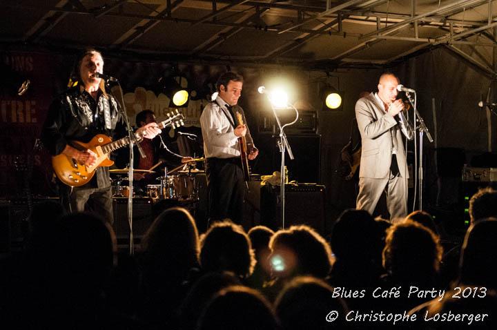 Nico Wayne Toussaint & Neal Black @ Blues CafeParty