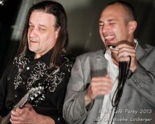 Nico Wayne Toussaint & Neal Black @ Blues Cafe Party