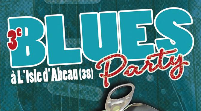 L'affiche de la 3e Blues Party dévoilée !