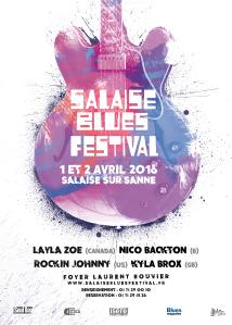 Affiche Salaise Blues Festival