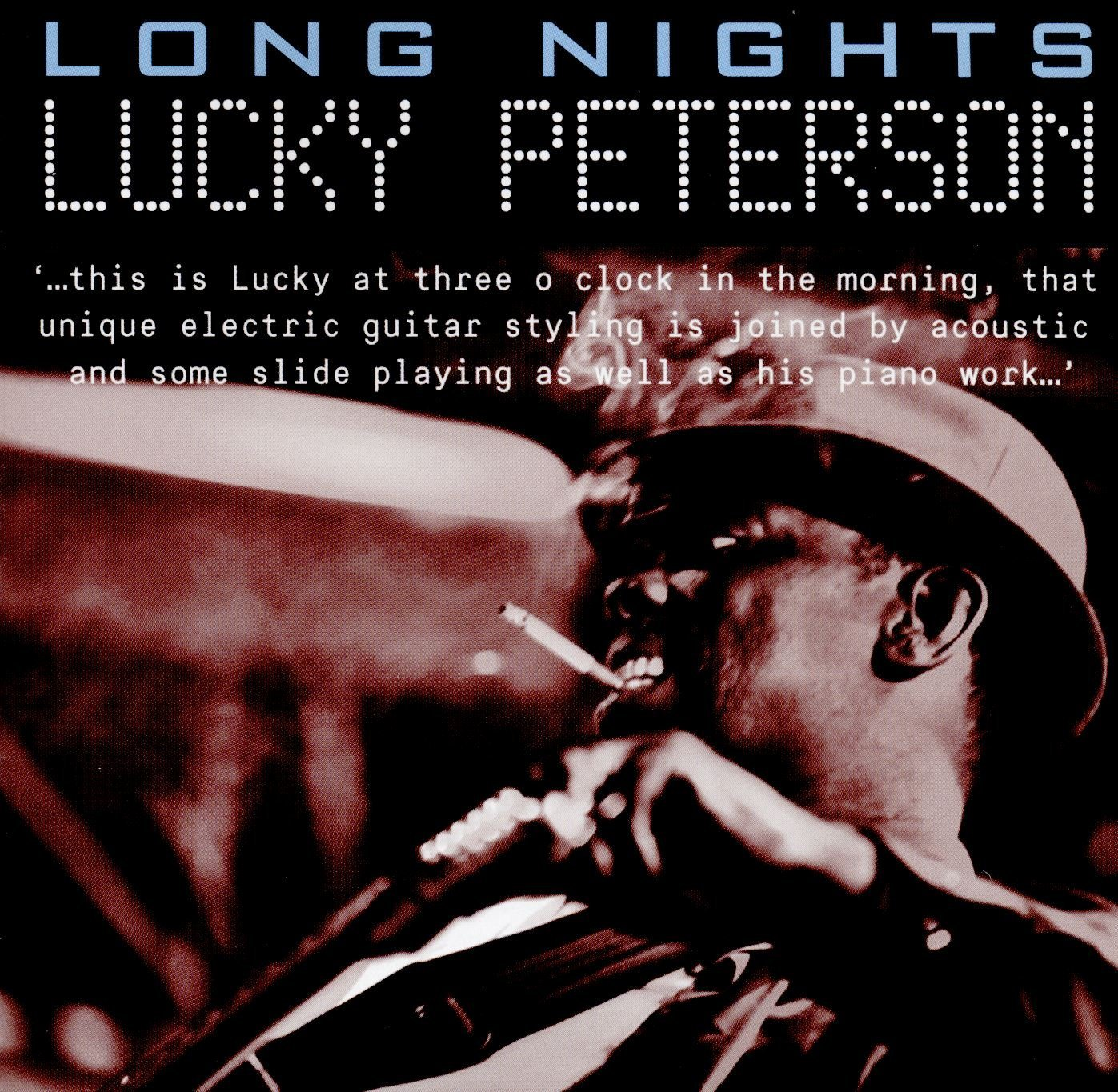 LUCKY PETERSON – Mad as a man can be