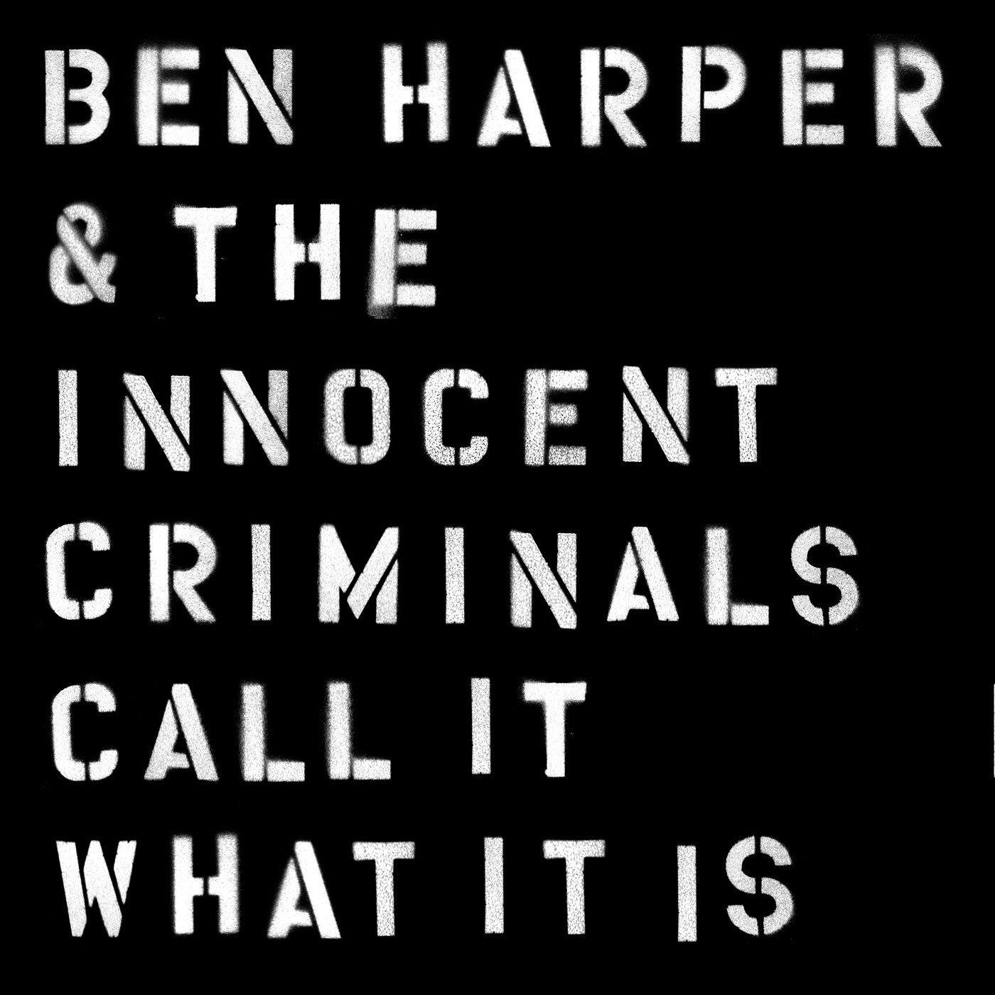 BEN HARPER – Call it what itis