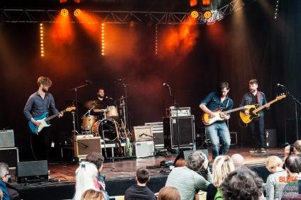 Guy Verlinde & The Mighty Gators @ 4ème Blues Party, Les Jardins du Millenium, l'Isle d'Abeau (France), 04.06.2016. (c) Christophe Losberger