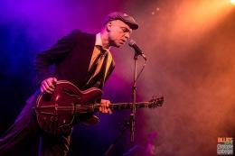 Thorbjørn Risager (vocals, guitar). Thorbjørn Risager & the Black Tornado @ 4ème Blues Party, Les Jardins du Millenium, l'Isle d'Abeau (France), 04.06.2016. (c) Christophe Losberger