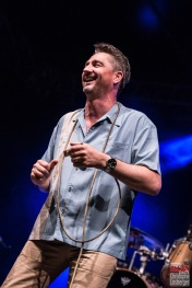 Michael Arlt (vocals, harmonica). Bonita and the Blues Shacks @ 5ème Blues Party, Les Jardins du Millenium, l'Isle d'Abeau (France), 10.06.2017. (c) Christophe Losberger