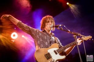 Chris Bergson (guitar, vocals). Chris Bergson Band feat. Ellis Hook @ 6ème Blues Party, Les Jardins du Millenium, l'Isle d'Abeau (France), 09.06.2018. (c) Christophe Losberger